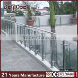 High quality stainless steel Staircase Balustrades / Handrails / Bracket / Spigt / Glass Railing