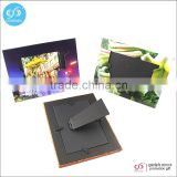 2016 New products promotion souvenir cardboard picture frame/stand paper photo frame                                                                         Quality Choice