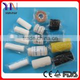 Colored Elastic Bandage with clips manufacturer CE FDA Certificated