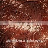 Good quality for high purity copper wire scrap