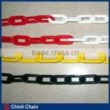 Decorator Plastic LinkChain,Combined Color Barricading Plastic Chain Sale