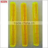 bubble level gauge/KEEN High quality tubular level bubble /plastic screw-on bubble level vial