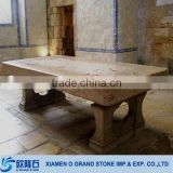 Chinese antique square marble stone tea table                                                                         Quality Choice
