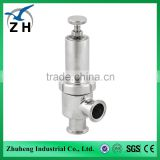 Food grade stainless steel sanitary Safety Valve gate valve                                                                         Quality Choice