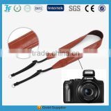 2015 new brown leather camera strap china factory wholesale