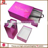 Customized paper shoe box cardboard shoe box with handle                                                                         Quality Choice                                                     Most Popular