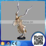 Wholesale room decortative resin deer head statue sculpture figurine christmas ornaments home decor                                                                                                         Supplier's Choice