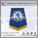 Excellent quality best sell custom club pennant flags