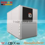 Large industrial monoblock hot water heat pump ground geothermal source with certral solar air condition