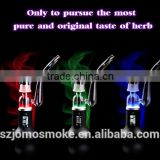 USA CA absolute hot sell patent e-cigarette dry herb vaporizer cartridge with cool led light