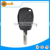 Hot sale car keys blank 2 button replacement remote key for Renault car with Renault logo