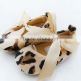 Lovely toddler shoe, leopard mother care baby shoe