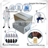 A3 mini hydrographic printing equipment No. LYH-WTPM004 film, activator spray gun, speedshape