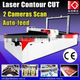 Sublimated Fabric Laser Cutter for Sports Apparel