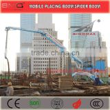 13m 15m 17m 18m Mobile Hydraulic Concrete Spider Boom/Concrete Placing Boom/Concrete Distributor for Sale