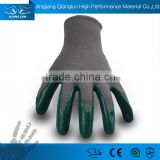 13G polyester mulit purpose smooth nitrile coated work gloves