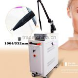 2016 new CE Certification na yag laser body scar therapy/tattoo removal beauty for clinic
