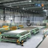 Automatic paper faced gypsum plasterboard sheet manufacturing plant with customer good feedback