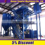 dry line processing dry mixing mortar plant high productivity and accurate mortar proportioning