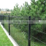 PVC/Powder Coated Welded Wire Mesh Fence/Welded Wire Fence /Square Post /Round Post / Peach Post(factory price)