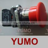 LAY4-BS542 RED turn to release NC emergency push button switch