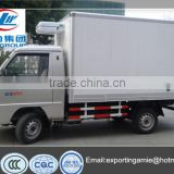 foton small 2 ton refrigerated cold room van truck for sale