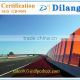 Dilang Manufacturers polycarbonate solid sheet for sound insulation