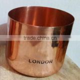Copper Candle Jar For Wax, Candle Wax Copper Jar