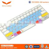 Top quality Silicone Eco-friendly Customize waterproof and dustproof Laptop Keyboard Cover