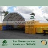 salt storage shelter , commercial warehouse tent , car shelter
