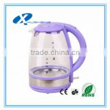 cordless electric glass kettle chinese electric beer brew tea kettle