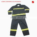 CHINA XINXING Dark blue Nomex 3 layer fire fighting firemen protective safety suit