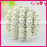Beautiful beaded pearl rhinestone China All types of buttons wholesale factory