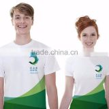 White/gray Color short sleeve o-neck cotton couple bulk wholesale unisex t-shirts