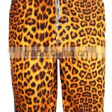 custom made fashion printed sweat men beach shorts