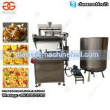 Continuous Pork Rinds Frying Machine|Automatic Peanut Fryer Machine