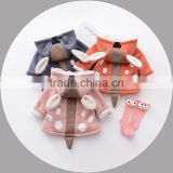 B40955A Winter baby wears hooded coats boys lovely warm jackets
