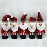 cute snow Santa Claus doll hanging ornaments festivial Christmas decoration