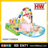 cute baby toys soft cloth mat fitness frame baby care play mat