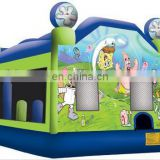 moonwalks,inflatable bouncer with slide,china inflatables C5016