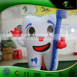Customized Inflatable Toothbrush, Inflatable Tooth Advertising Balloon