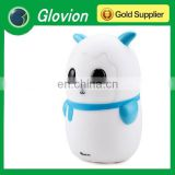Glovion panda shape led lamp cute bedroom lamp wireless table lamps