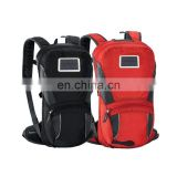 Guangzhou supplier waterproof solar backpack for unisex