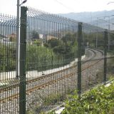 China factory heavy duty welded wire mesh 3D fence panels border fence