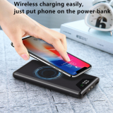 Hot 10000mAh Mobile Phone Mini Wireless Battery Charger Power Bank