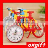 OXGIFT Bicycle alarm clock personalized creative fashion room gifts student study Decoration