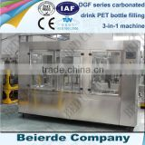 3000 bottles per hour carbonated drink packing machinery