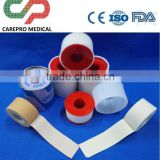 Factory manufacturing medical dressing white/skin color zinc oxide adhesive plaster/tape