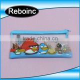 School use pvc pencil bag for kids pvc pencil case bag for teenagers student Slider zipper pvc pencil bag