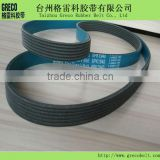 New type of blue pulley v belt and ribbed belt 6PK1980 for Shanghai GM Buick LaCrosse II